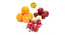 Apple (W) + Pomegranate + Orange (I) 500g Each