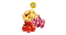 Potato + Onion + Tomato 1 kg Each