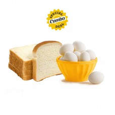 Milk Bread (200g) + Delicious Eggs (6pcs)