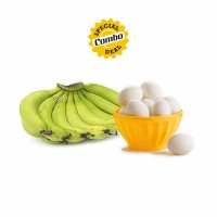 Delicious Eggs + Banana - Robusta (6pcs Each)